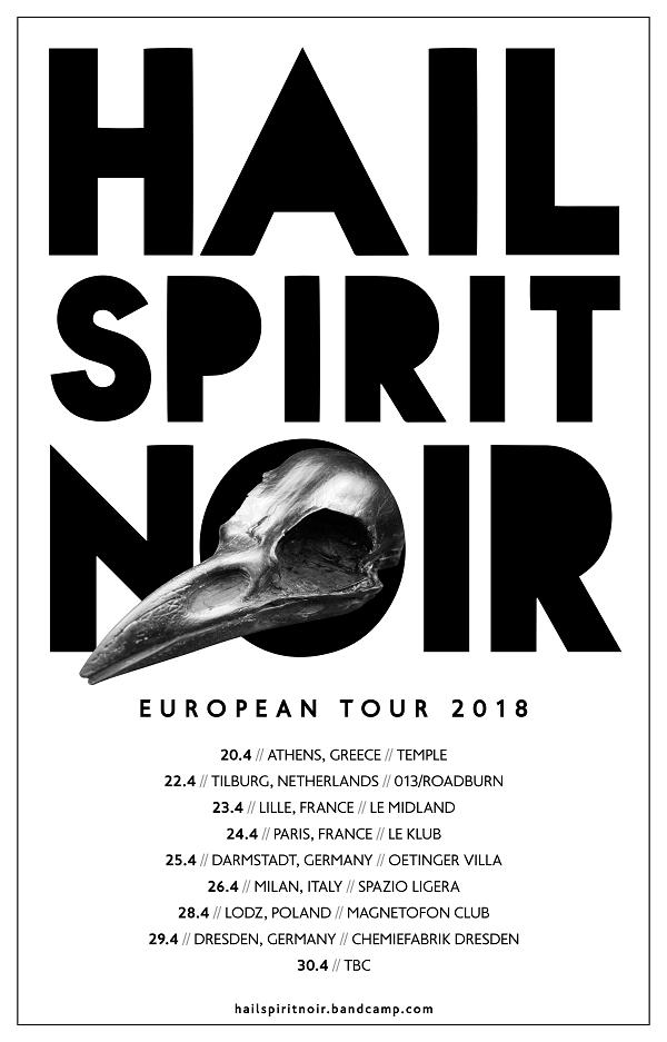 Hail Spirit Noir Tour 2018PR