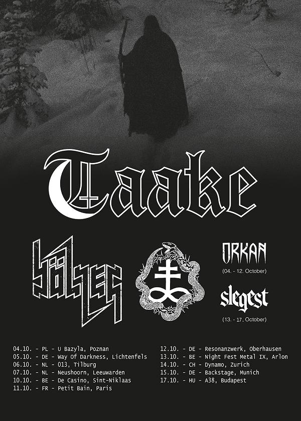 Taake European Tour 2018PR