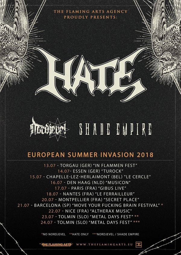 Nordjevel Euro Tour 2018PR
