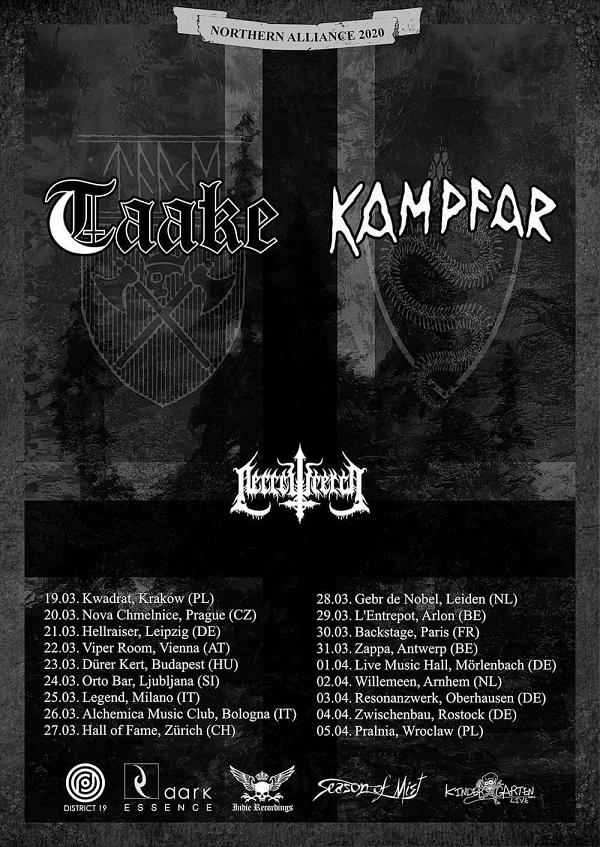 Taake Kampfar Tour PR